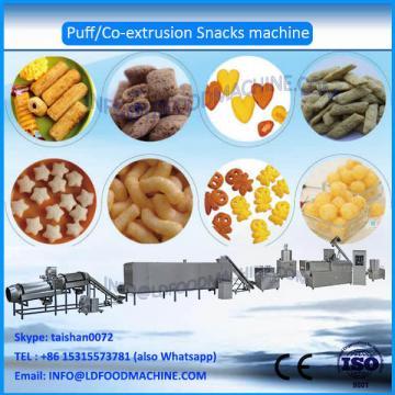 Automatic puffed chocolate filled snacks machinery