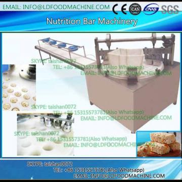 High output snack machinery to make peanut candy / cereal bar line