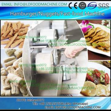 Hot sale Full Automatic Fresh Hamburger processing line/hamburger Patty maker with CE certification