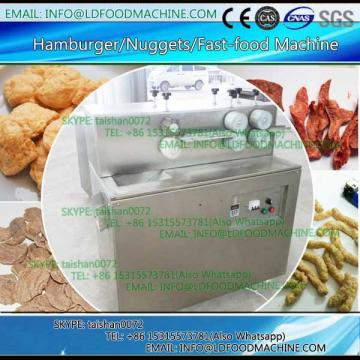 textured soya nuggets protein food make machinery processing line