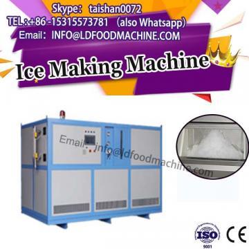 Food industry fruit crush ice cream mixer machinery with ice cream cone Display
