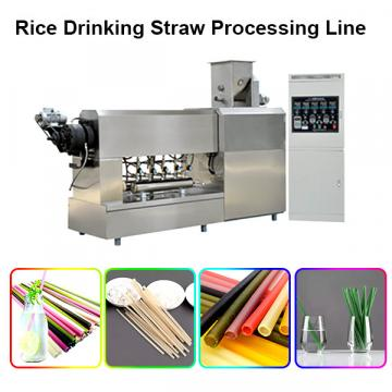 100% Biodegradable PLA Drinking Straw Making Machine Disposable Eco Friendly Polylactic Acid Straw