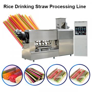 Biodegradable Environment Degradable Tube Drinking Straw Making Machine Factory