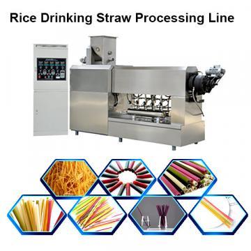 Eco Friendly Drinking Straws Biodegradable / Rice Straw Making Machine Drinking